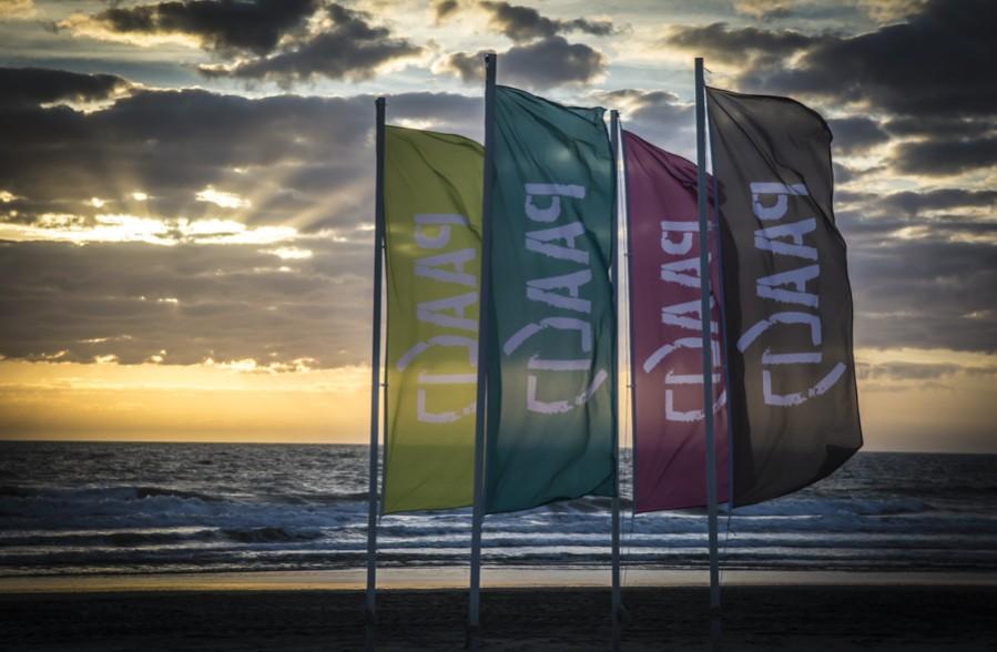 Ronde om Texel vlaggen